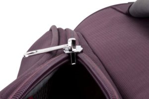 Slide Safe Deep purple twin zip